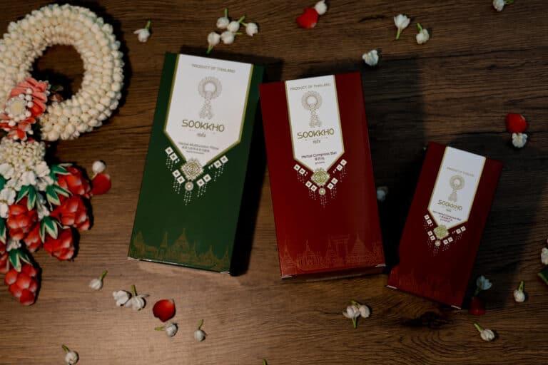 SOOKKHO upgrades Thai Herbal Compress Ball towards International.